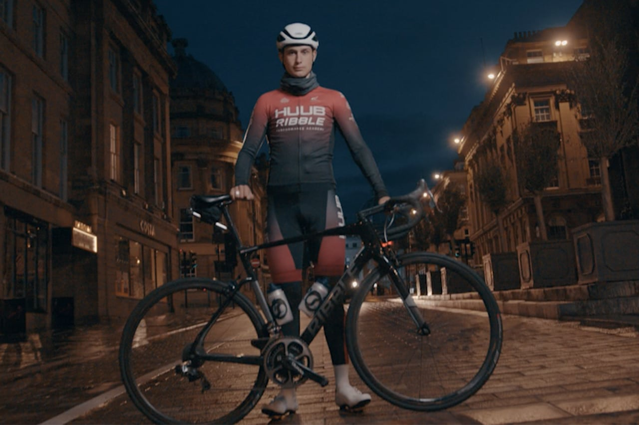Newcastle Video team works with local cycling team for national big brand shoot