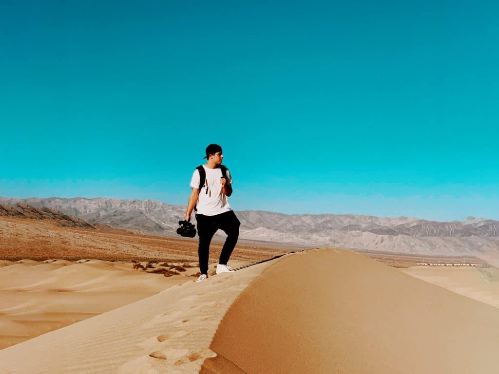 music video production desert star